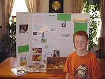 Mason's Award Winniing Fossil Science Project